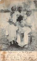 Somalie - Femmes Et Enfants, Fillette Qui Tète Sa Mère, Colonie Italienne - Somalia
