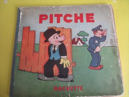 PITCHE/ Aleksas Stonkus/Hachette/ Paris /1932    BD60 - Bücher, Zeitschriften, Comics