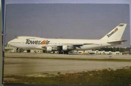 TOWER AIR   B 747 200   N6186 - 1946-....: Moderne