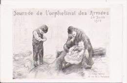 JOURNEE DE L'ORPHELINAT DES ARMEES 20 JUIN 1915 ILLUSTRATION DE ROLL - Weltkrieg 1914-18