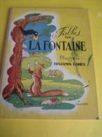 Fables De La Fontaine /Illustrées Par Benjamin Rabier / Tallandier // Paris /1953    BD61 - Bücher, Zeitschriften, Comics