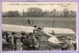 27 - PACY Sur EURE --  Les Fês Des 13, 14 Et 15 Septembre 1913 - Appareil Deperdussin à L'Arret - Pacy-sur-Eure
