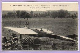 27 - PACY Sur EURE --  Les Fêtes Des 13, 14 Et 15 Septembre 1913 - Appareil Deperdussin Lemoine... - Pacy-sur-Eure