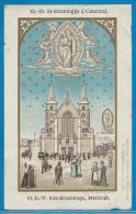 Holycard Goldprint édit St Augustin - O.L.V. Van Groeninge, Kortrijk - Images Religieuses