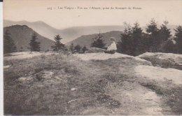 Les Vosges Vue Sur L'Alsace Prise Du Sommet Du Donon - France