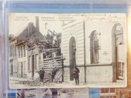Poperinghe Bombardement vlamingstraat Rue Flamande Oorlog 1914 poperinge