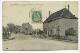 CPA  24 : THIVIERS   Avenue De Limoges   A   VOIR  !!! - Thiviers