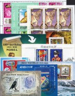 Tiere Motive Block-Puzzle PC 10 Blocks/Kleinbogen O 50€ Sport Kunst Bloque Hojitas Bloc Art Sheet M/s Sheetlet Bf Topics - Colecciones (en álbumes)