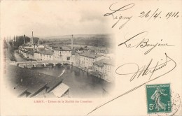 LIGNY USINES DE LA SOCIETE DES LUNETIERS INDUSTRIE 55 MEUSE 1900 - Ligny En Barrois