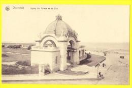 * Oostende - Ostende - Ostend (Kust - Littoral) * (Nels, Ern Thill) Ingang Der Palace Hotel En De Zee, Digue, Plage Rare - Oostende