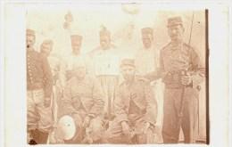 Carte Photo Militaire 1914 1918 - Soldats 113e RIT (Toulon) Maroc Territoriaux - Taourirt Baïonnette - Guerre 1914-18