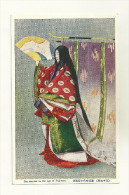ASIE COREE DU SUD OU COREE DU NORD KOREA TYPE ETHNIE WOMAN THE MANNER IN THE AGE OF FUJIWARA - Corée Du Sud