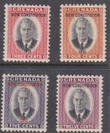 Grenada, George VI 1951 New Constitution,, MH * - Grenada (...-1974)