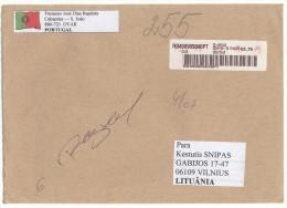 PORTUGAL Postal History Envelope Brief PT 009 Franking Machine - 1910-... Republic