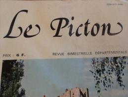 1977 LE PICTON N° 5 / SAINTE RADEGONDE / GRAND´GOULE / FORT USSEAU / CHÂTEAU DE CHAUVIGNY / LA SAUCE AUX LUMAS - Poitou-Charentes
