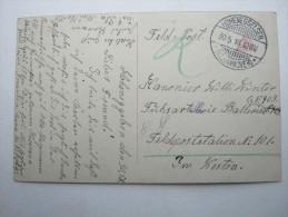 1916, HOHENEGGELSEN  , Klarer Ortsstempel Auf  Karte