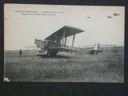 Ref3523 BP CPA Animée Aviation Militaire - Bi-moteur Goliath F 60 Appareil De Bombardement De Nuit - Librairie Guérin - Non Classés