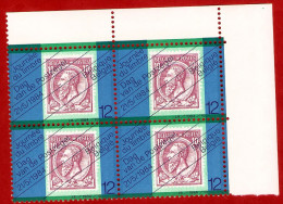 1984  -  BELGIQUE  N°  2132**   Bloc  De 4  Timbres  Neufs - Belgique