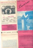 TURISMO TURISME TOURIST TOURISTS GUIDE AND MAPS CIRCA 1970 4 DIFFERENT ITEMS - Werbung