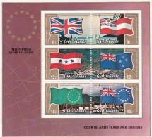 Cook Islands 1983 Flags Souvenir Sheet MNH - Cookeilanden