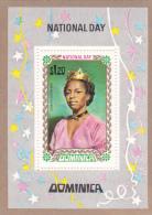 Dominica 1971 National Day Souvenir Sheet MNH - Dominica (...-1978)
