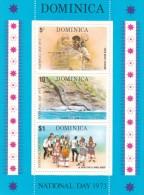 Dominica 1973 National Day Souvenir Sheet MNH - Dominica (...-1978)