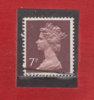 1975 - Serie Courante / ELIZABETH II  Mi No 667 Et Yv No 734 - Machin-Ausgaben