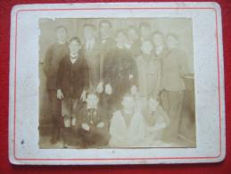 29 - QUIMPER - PHOTO 7 X 5.8 - CLASSE DE 3e B - LYCEE DE QUIMPER - PHOTOGRAPHIE TIREE LE 12 JUILLET 1911 PAR Mr PHILIPPO - Photos
