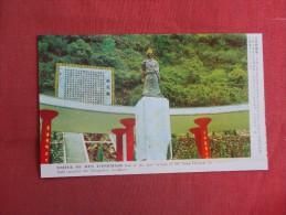 Taiwan  Statue Of Wen Tienhsiang----  Ref 1486 - Taiwan