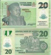 Nigeria 20 Naira 2007  Pick 34 UNC - Nigeria