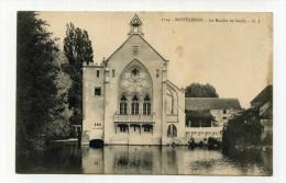 CP , 91 , MONTGERON , Le Moulin De Senlis - Montgeron