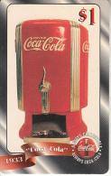 USA - Coca Cola, Sprint Promotion Prepaid Card $1(39/50), Exp.date 10/97, Mint - Sprint