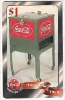 USA - Coca Cola, Sprint Promotion Prepaid Card $1(38/50), Exp.date 10/97, Mint