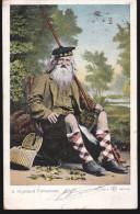 CPA - (Royaume Uni) A Highland Fisherman - 1905 - Autres