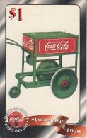 USA - Coca Cola, Sprint Promotion Prepaid Card $1(37/50), Exp.date 10/97, Mint - Sprint