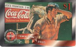 USA - Coca Cola, Sprint Promotion Prepaid Card $1(29/50), Exp.date 10/97, Mint