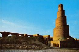 AK IRAK BAGHDAD ABE-DALAF MINRATE SAMARRA  Nr.129. ALTE POSTKARTEN - Irak