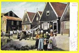 * Eiland Marken (Noord Holland - Nederland) * (Dr. Trenkler Co 1904 , Nr 14367) Villa, Rare, Belle Animation, TOP CPA - Marken