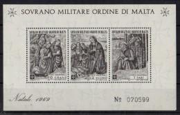 SMOM - SOVRANO MILITARE ORDINE DI MALTA 1969   BF  MNH - Malta (Orde Van)