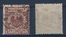 Deutschs Reich Michel No. 50 a gestempelt used / gepr�ft BPP J�schke