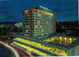 AK IRAK   BEIRUTH PHOENICIA HOTEL BY NIGHT  ALTE POSTKARTEN 1965 - Irak
