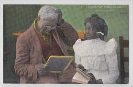 BLACK AMERICANA 1939 - GRAND-PAP EMBARRASSED - Black Americana