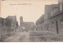 Cpa/pk 1924 Zonnebeke Yperstraat - Zonnebeke