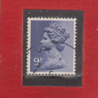 1976 - Serie Courante / ELIZABETH II    Mi No 696 Et Yv No 780 - Machin-Ausgaben