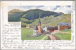 GR ST. ANTONIEN 1900-08-10 St. Antonien-Castels (Alpenrose) Foto Meisser - GR Grisons