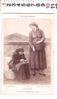 CA 16 FOTO ALBUMINA  SU CARTONCINO G  BROGI   DIPINTO TORRIGLIA - Anciennes (Av. 1900)