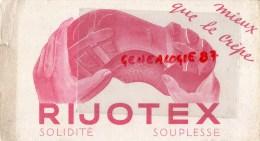 38 - IZEAUX - BUVARD RIJOTEX - CHAUSSURES - Chaussures