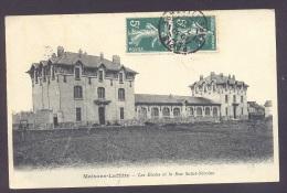 78 YVELINES MAISONS LAFFITTE  Les Ecoles Et La Rue Saint Nicolas - Maisons-Laffitte