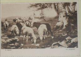 ARTE - Quadri e pittori - Stefano Bruzzi (Piacenza, 26 aprile 1835 � Piacenza, 4 gennaio 1911) - La sorgente