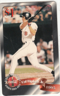 USA - Coca Cola, Cal Ripken Jr., Sprint Promotion Prepaid Card $1(03/50), Exp.date 10/97, Mint - Sprint